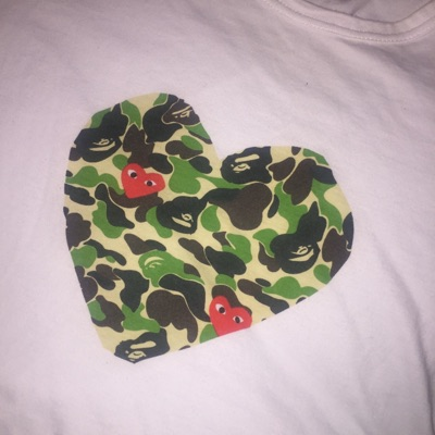 Come Sea Garcons X Bape