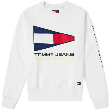 Tommy Jeans 5.0 90s Sailing Logo Crew Sweat