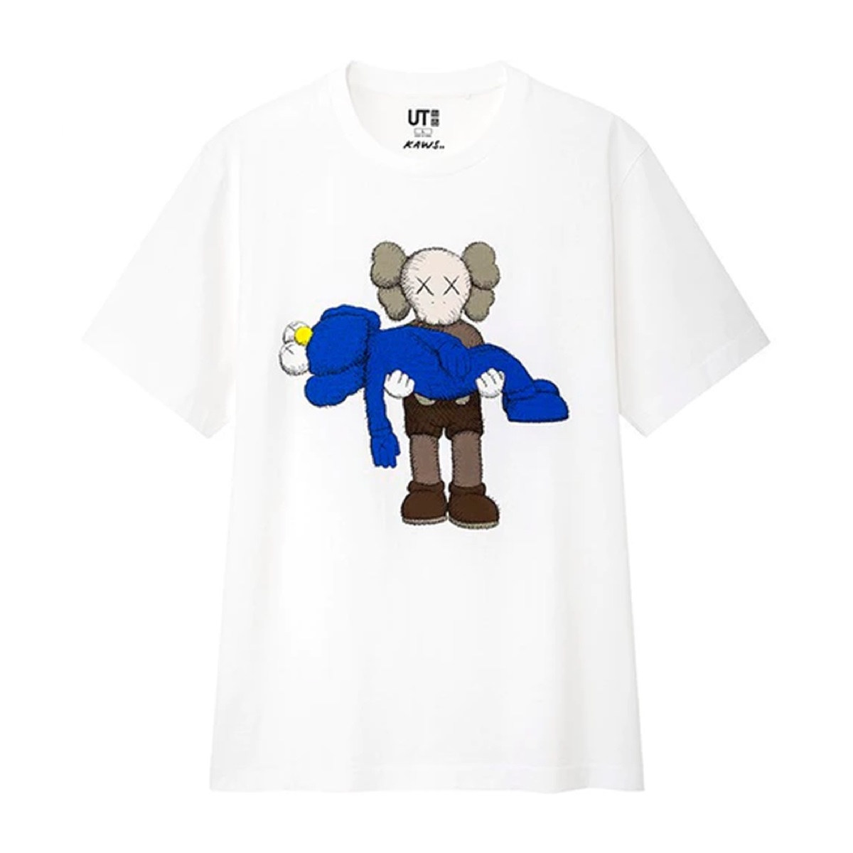 KAWS x Uniqlo Gone Tee (US Sizing) White