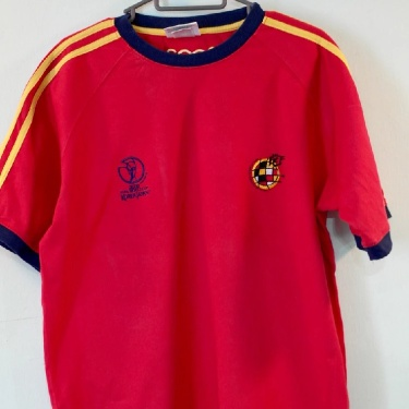 Spain Adidas T Shirt World Cup 2002