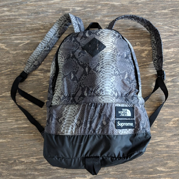 3dd99163f Supreme X The North Face Snakeskin Backpack