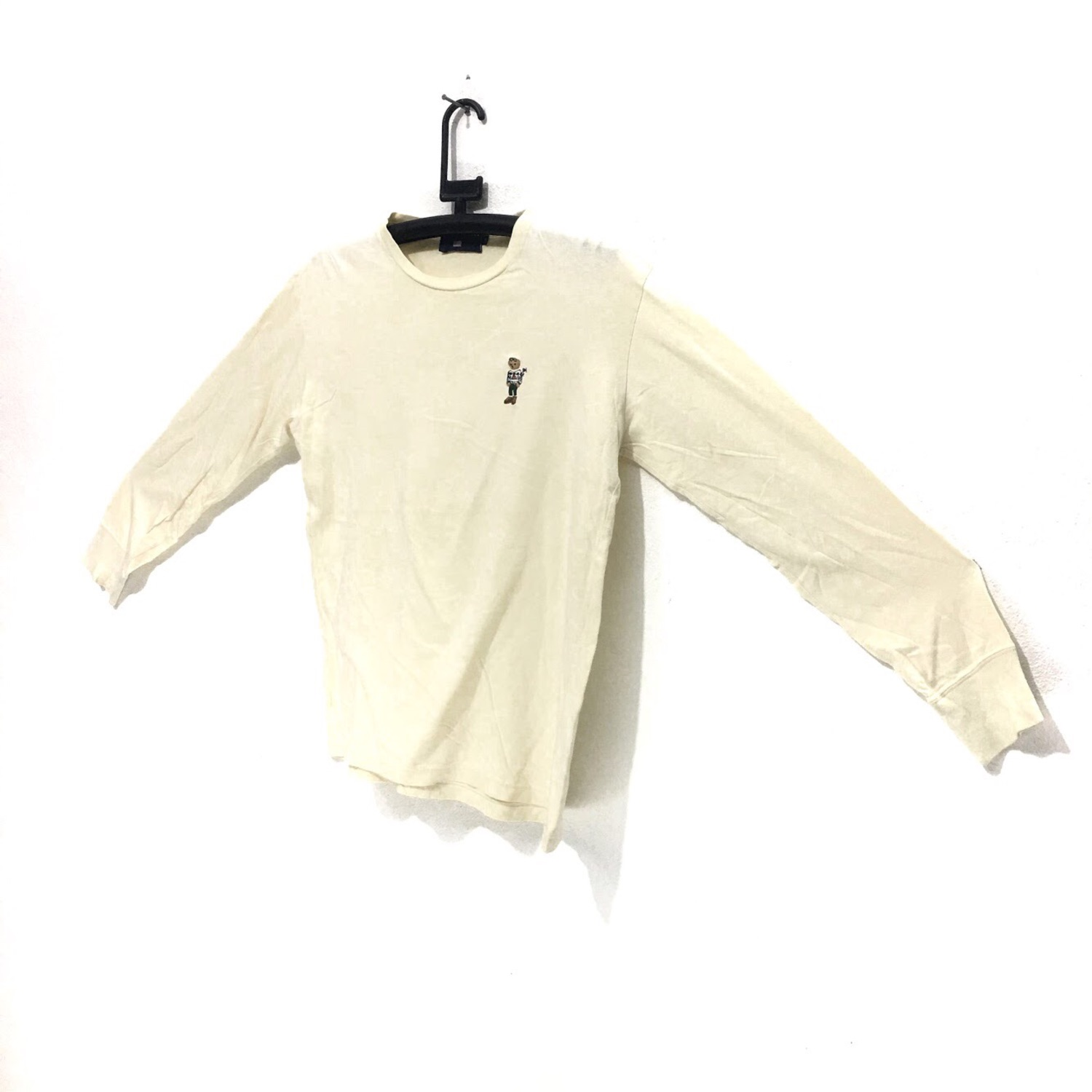Vtg Polo Bear Ralph Lauren Tee Shirt Long Sleeve