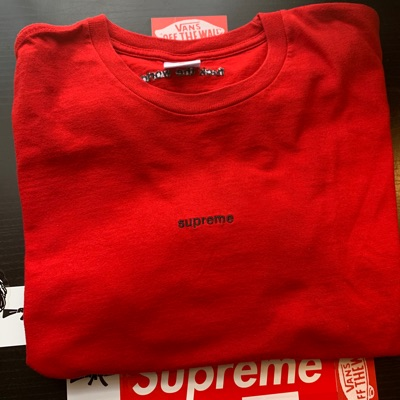 Supreme FTW Tee Red