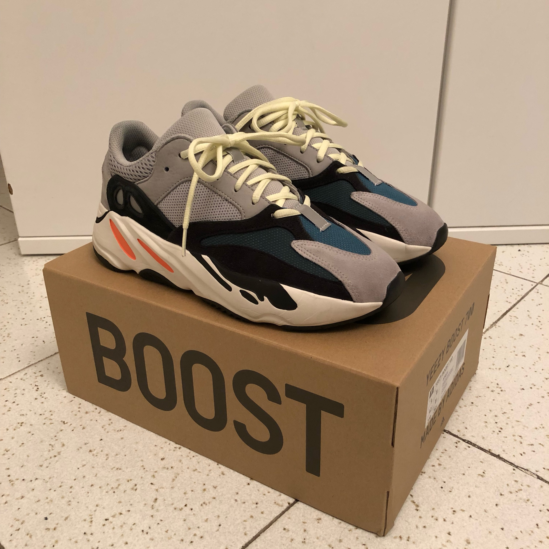 new style 7bdbd 3d5f4 Adidas Yeezy Boost 700 Wave Runners By Kanye West