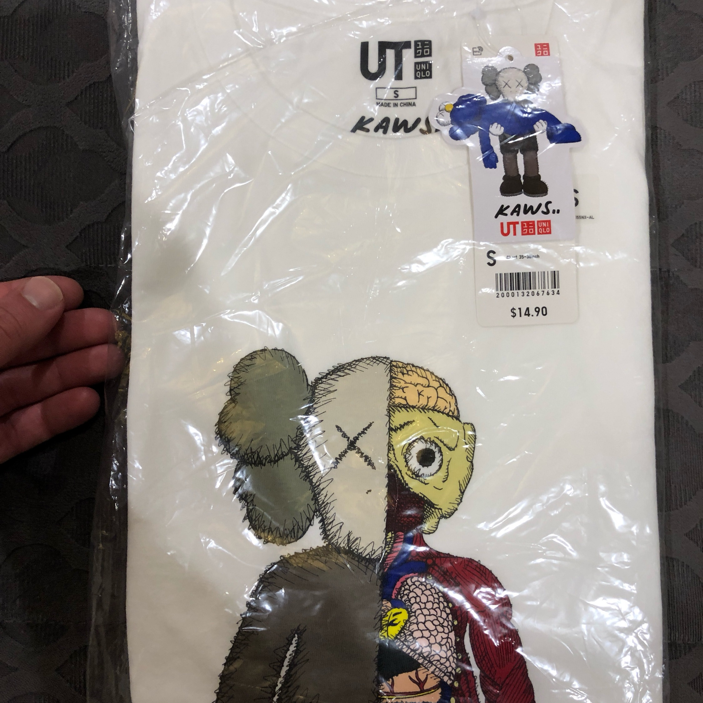 Last Kaws X Uniqlo Collaboration Dissect/Flayed(S)