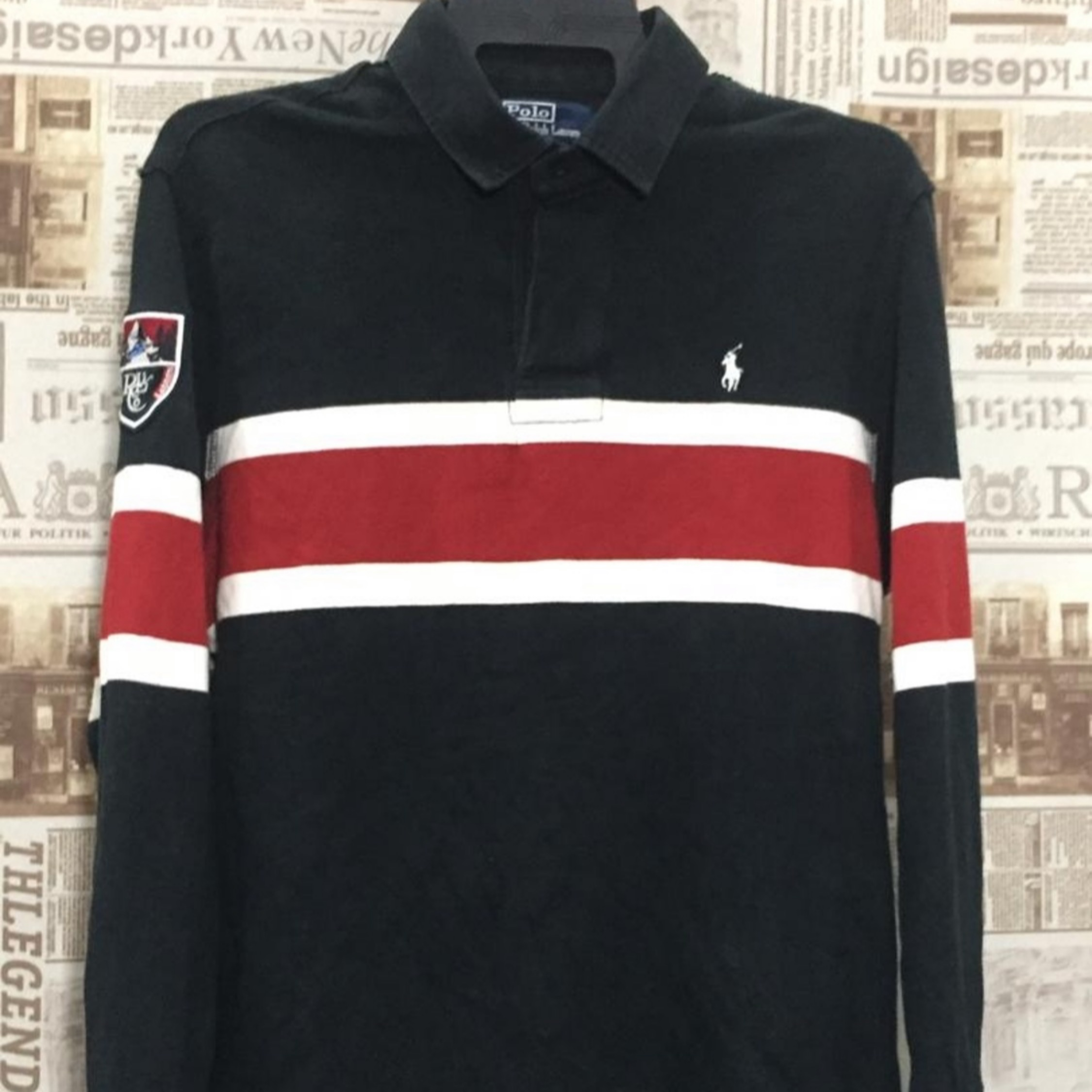 Polo Lauren Ralph Rugby Long Sleeve l1K3FJcT