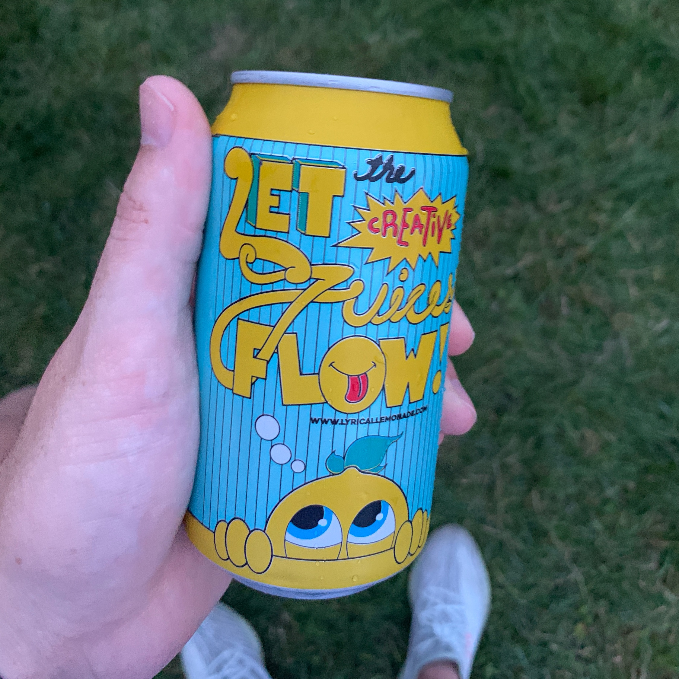 Lyrical Lemonade Can