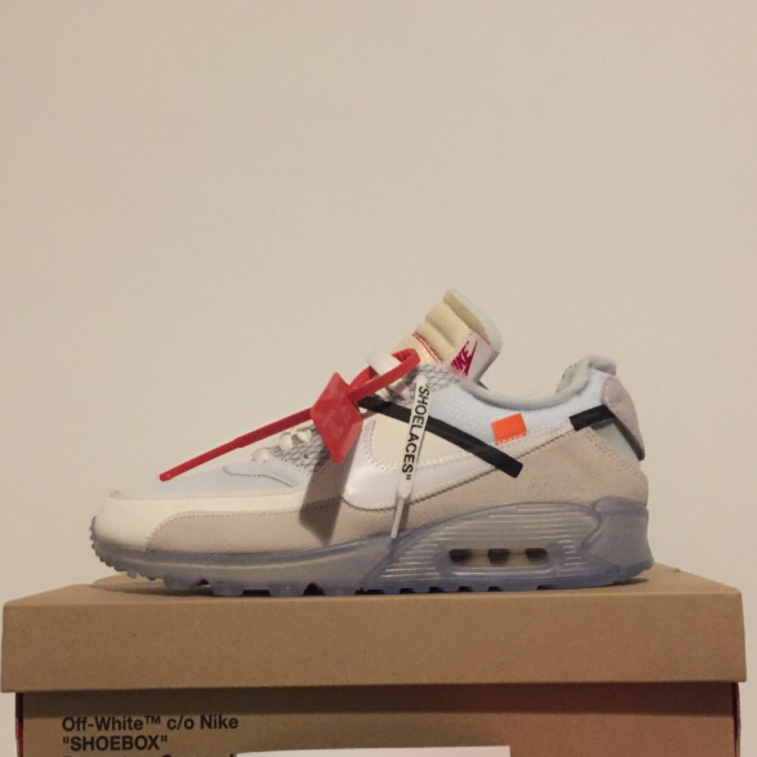 reputable site fcbb6 4b1b1 Off-White X Nike Air Max 90 Virgil Abloh