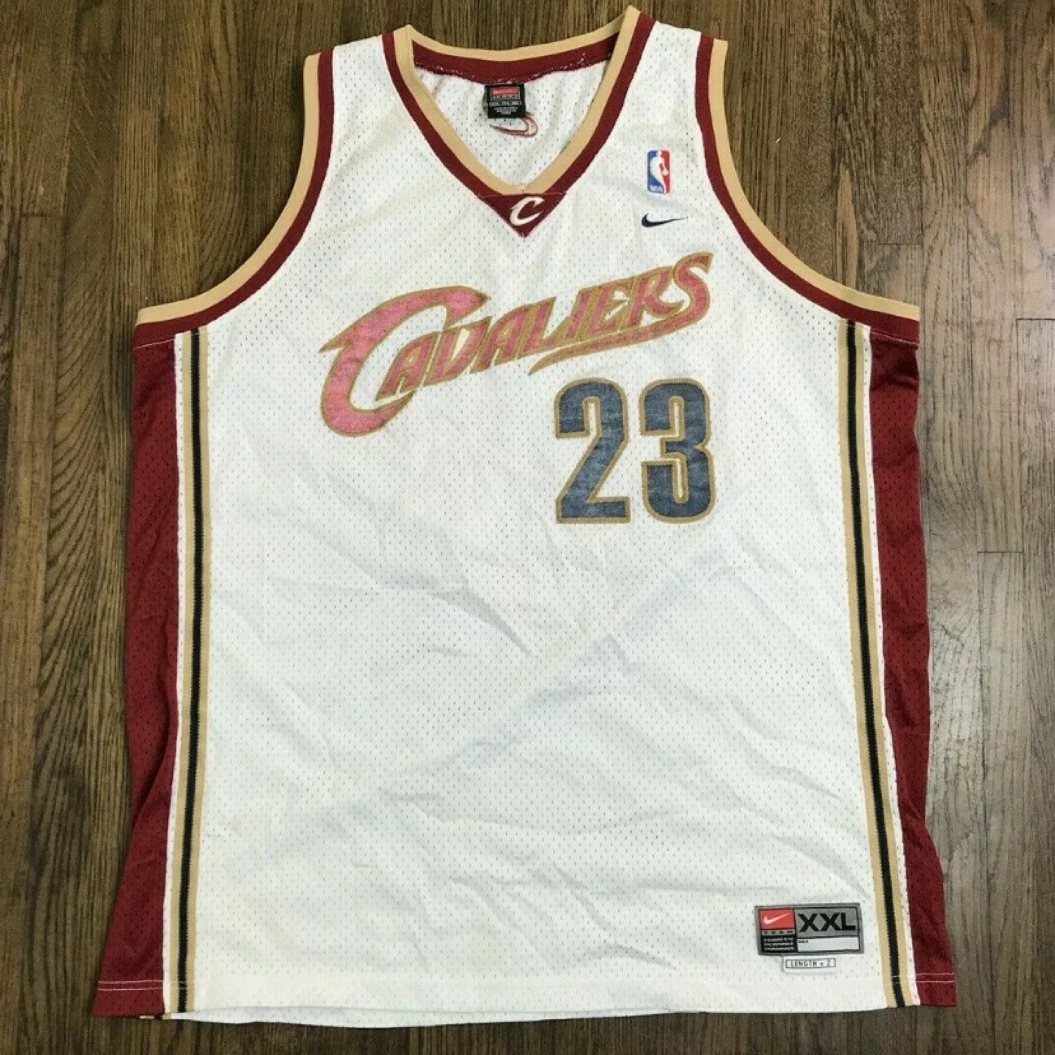 san francisco 44bdd ac947 Cleveland Cavaliers #23 Lebron James Nike Jersey