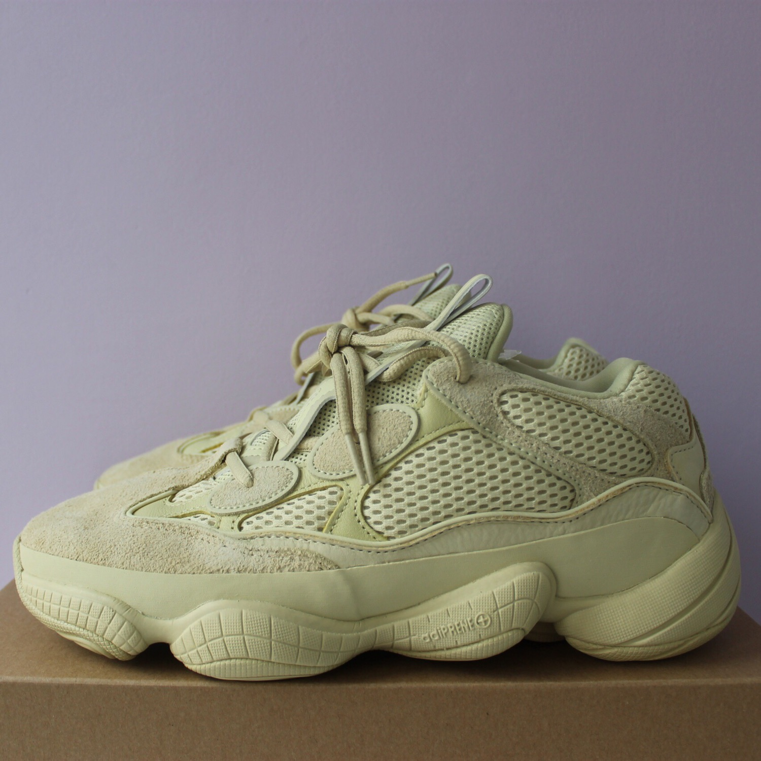 premium selection c0d99 ef0be Adidas X Kanye West Yeezy 500 Supermoon Yellow