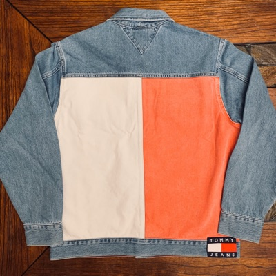 Tommy Jeans Flag Logo Denim Jacket