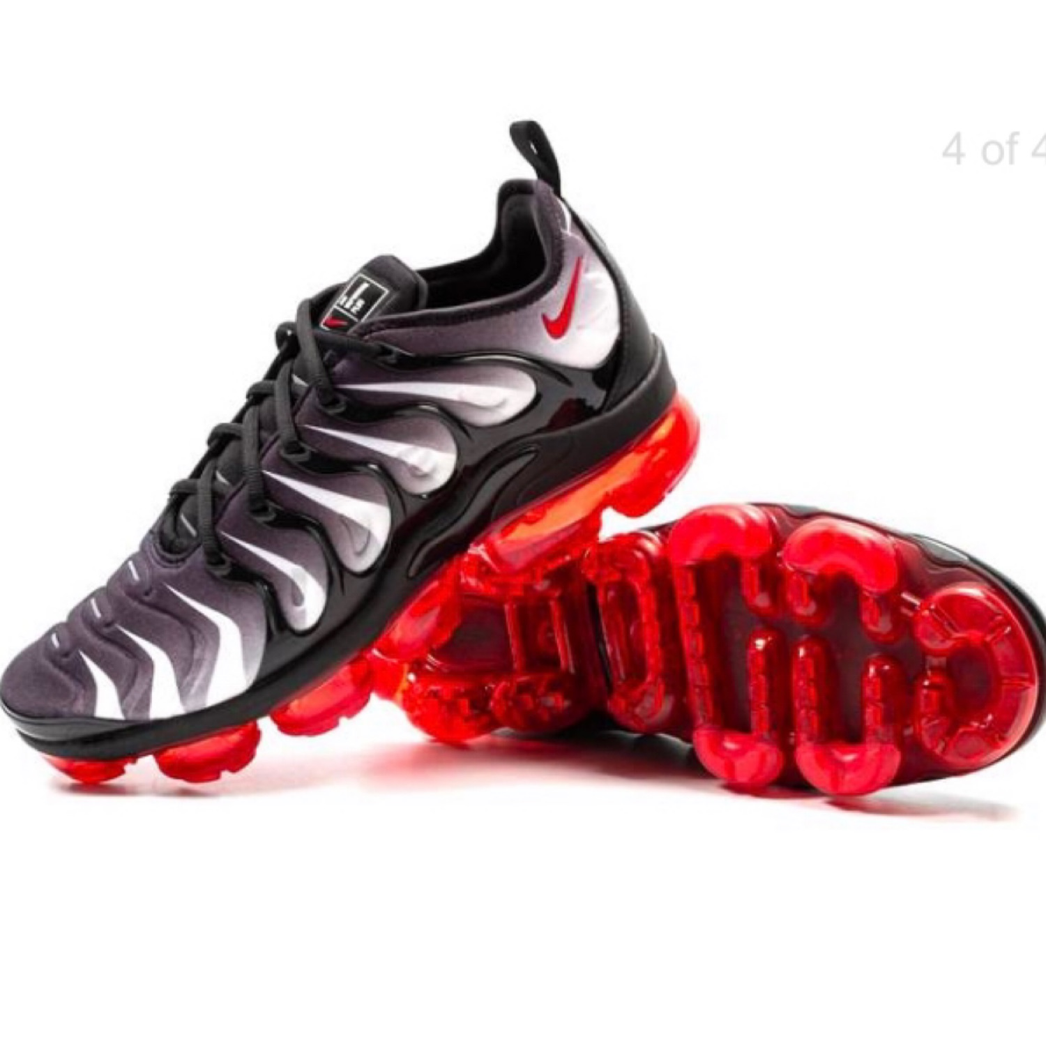 """new style 1851e b49a1 Nike Air Vapormax Plus """"Red Toothed Shark"""" Sz. 8.5"""