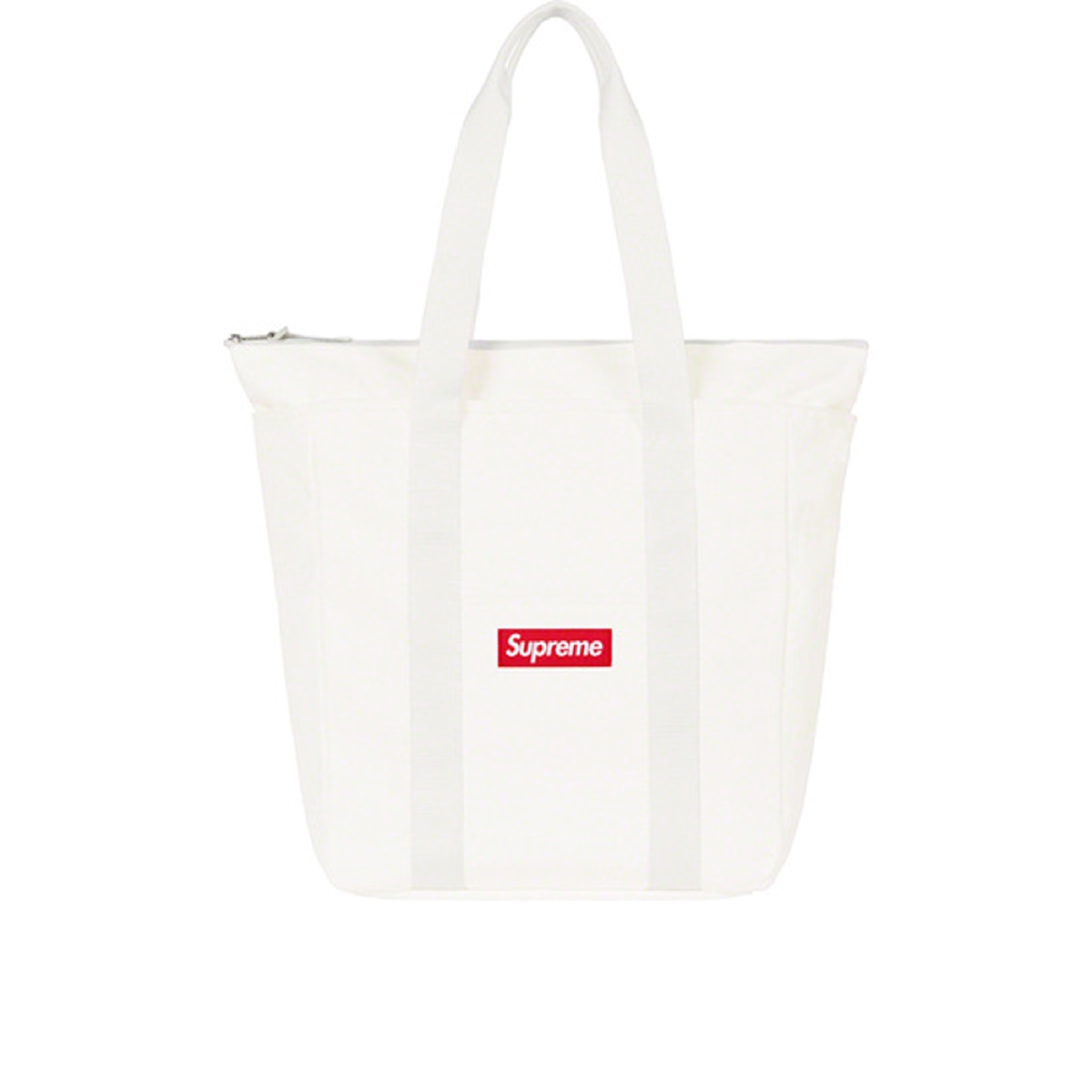 Supreme Canvas Tote White