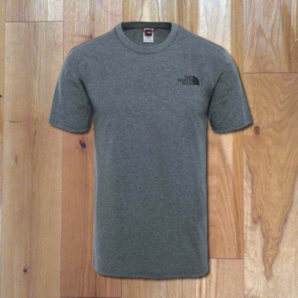 North Face T Shirt In Grey