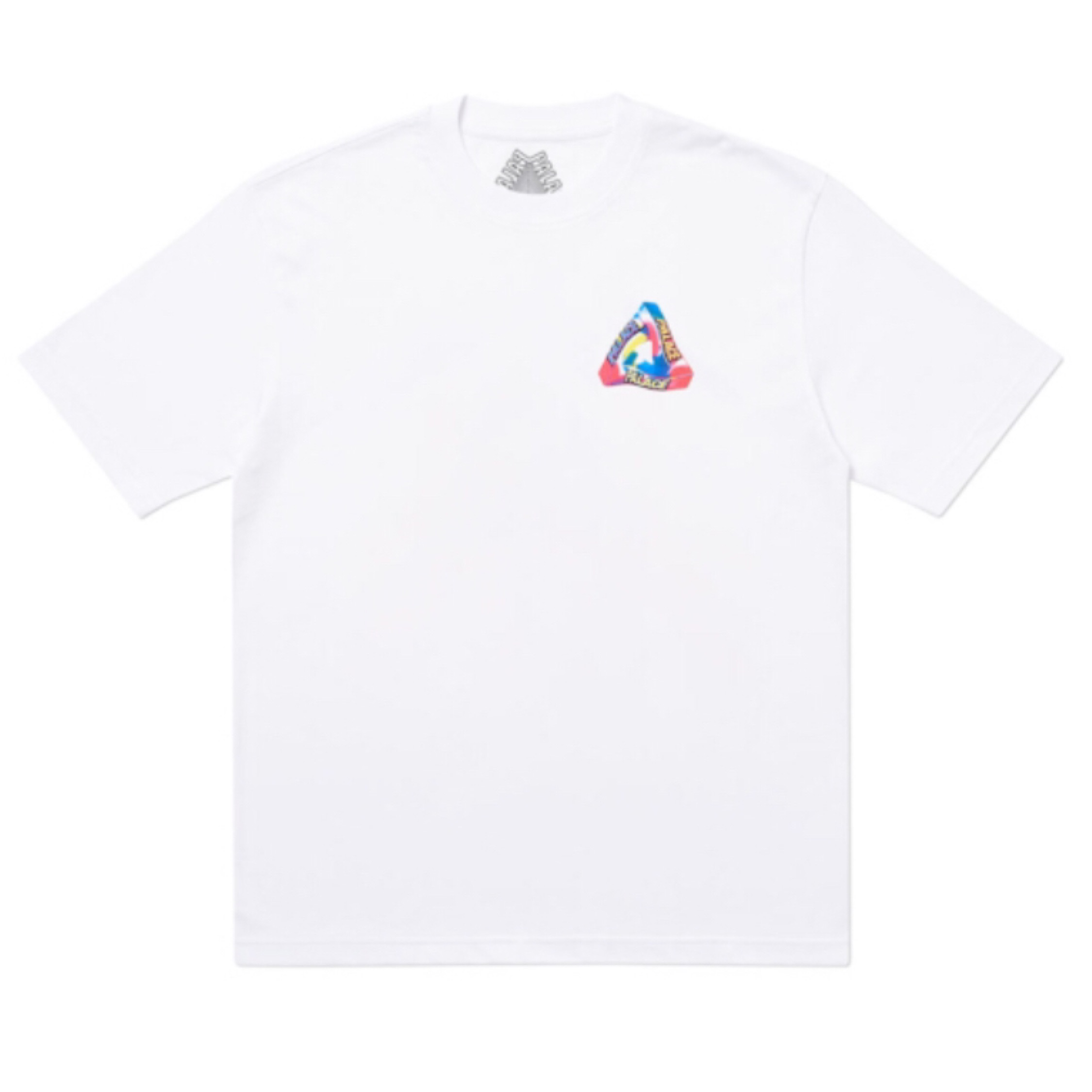 Palace I Don't Skate On A Sunday T-Shirt White