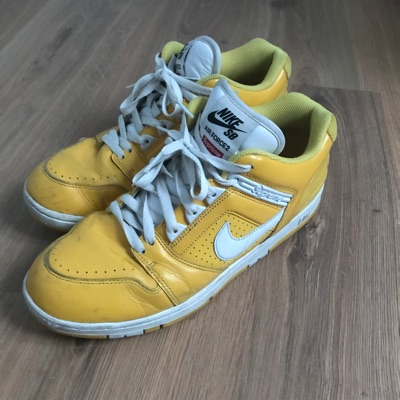 Supreme Af2 Yellow Air Force