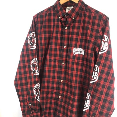 Billionaire Boys Club Button Up Checkered Shirt