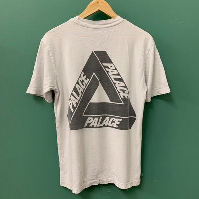 Palace Og Black Tri Ferg On White Tee