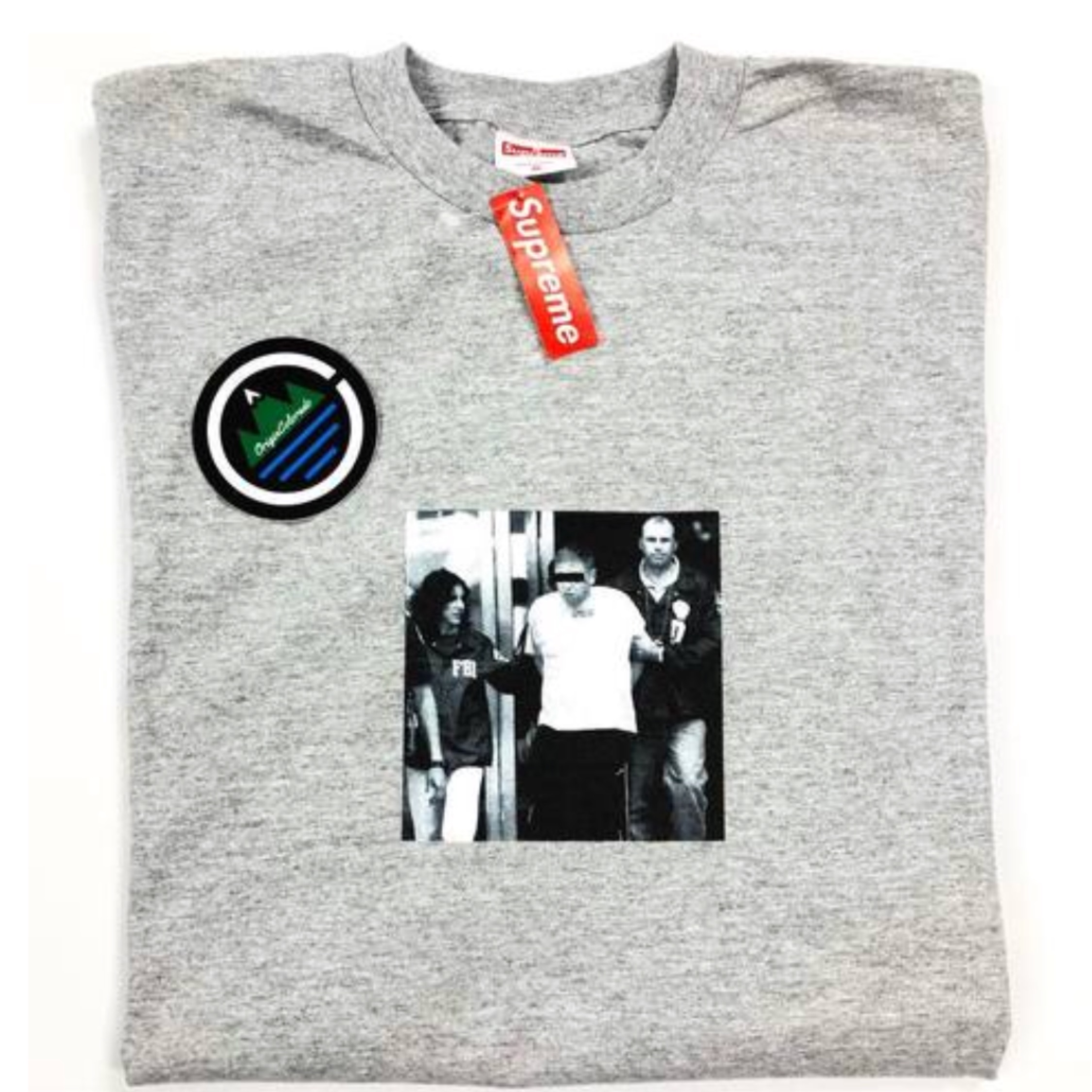 Supreme Illegal Business Controls America Tee Xl