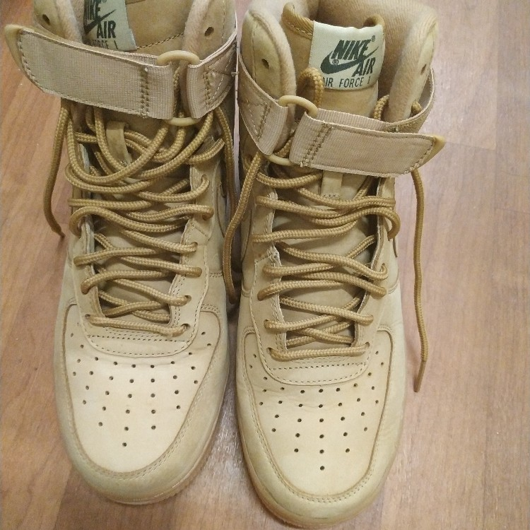 size 40 bce87 be920 Air Force 1 High Flax 8.5
