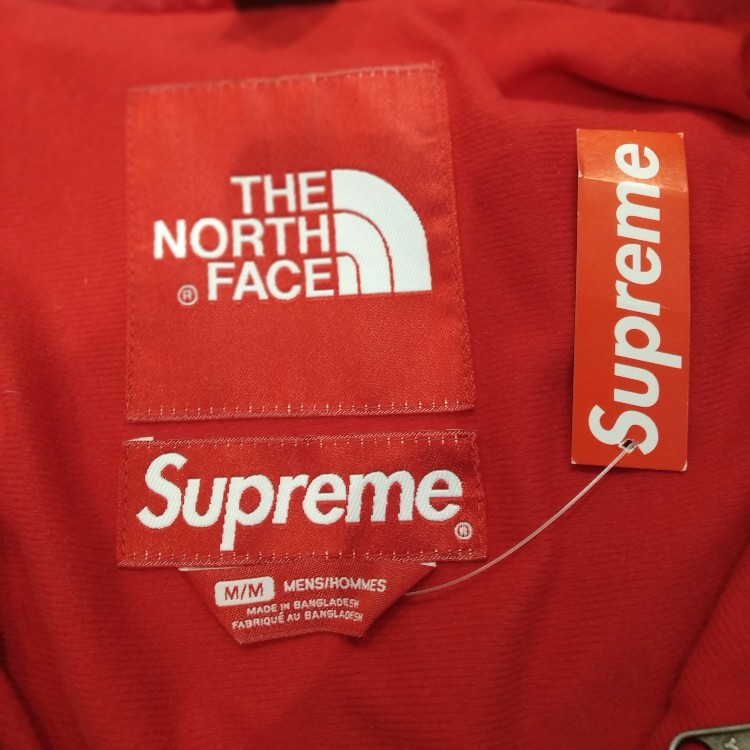 5627be6da Supreme x The North Face 3M Reflective Mountain Jacket Red