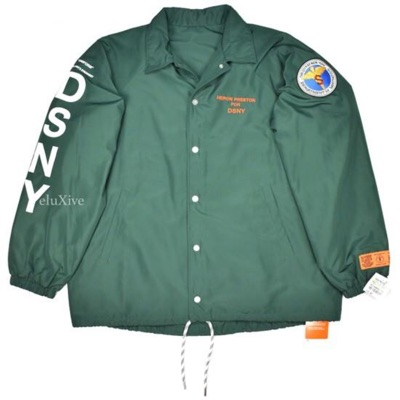 Heron Preston Sample Dsny Logo Coach's Jacket Ds