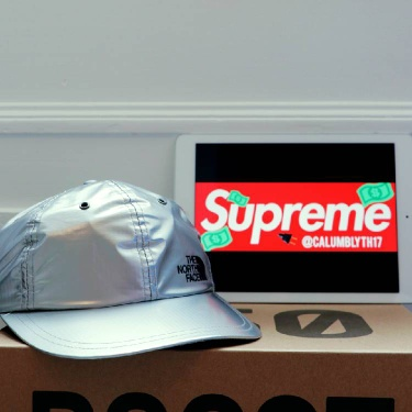 Supreme/The North Face Silver Hat *Need Gone*