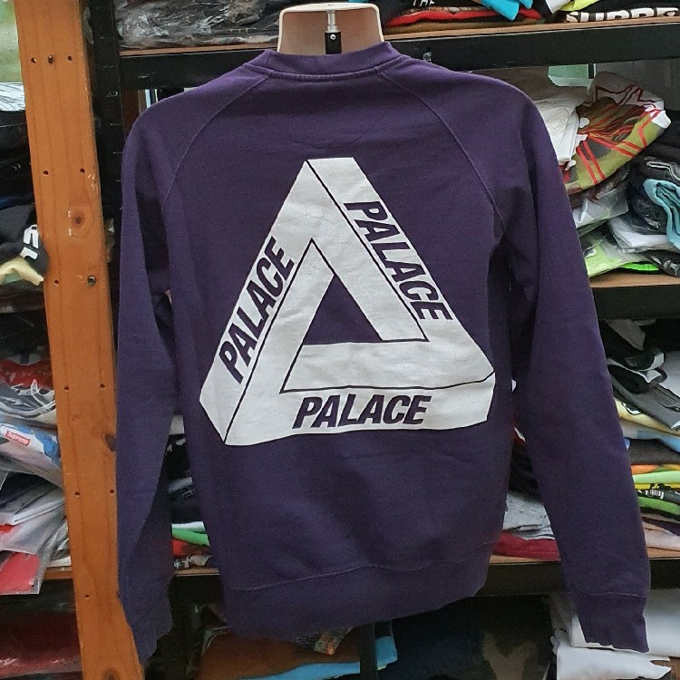 Very rare Palace Triferg purple crewneck sweatshirt Size M medium