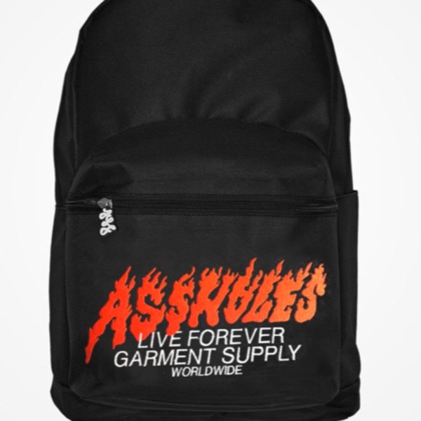 Alf Flames Backpack Black (1) From Nov 5Th Drop