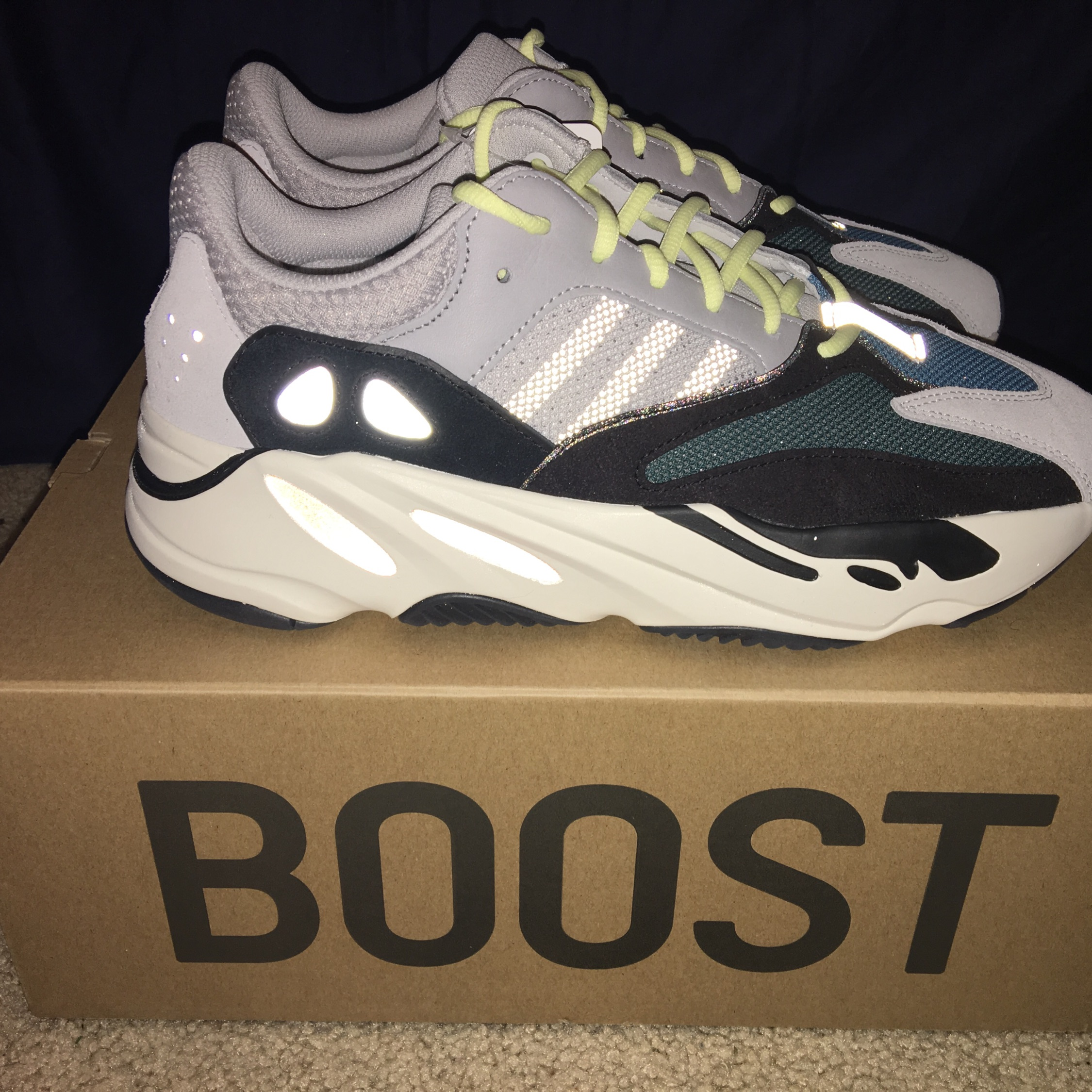 reputable site 84c49 8ae6f Adidas Yeezy Wave Runner 700