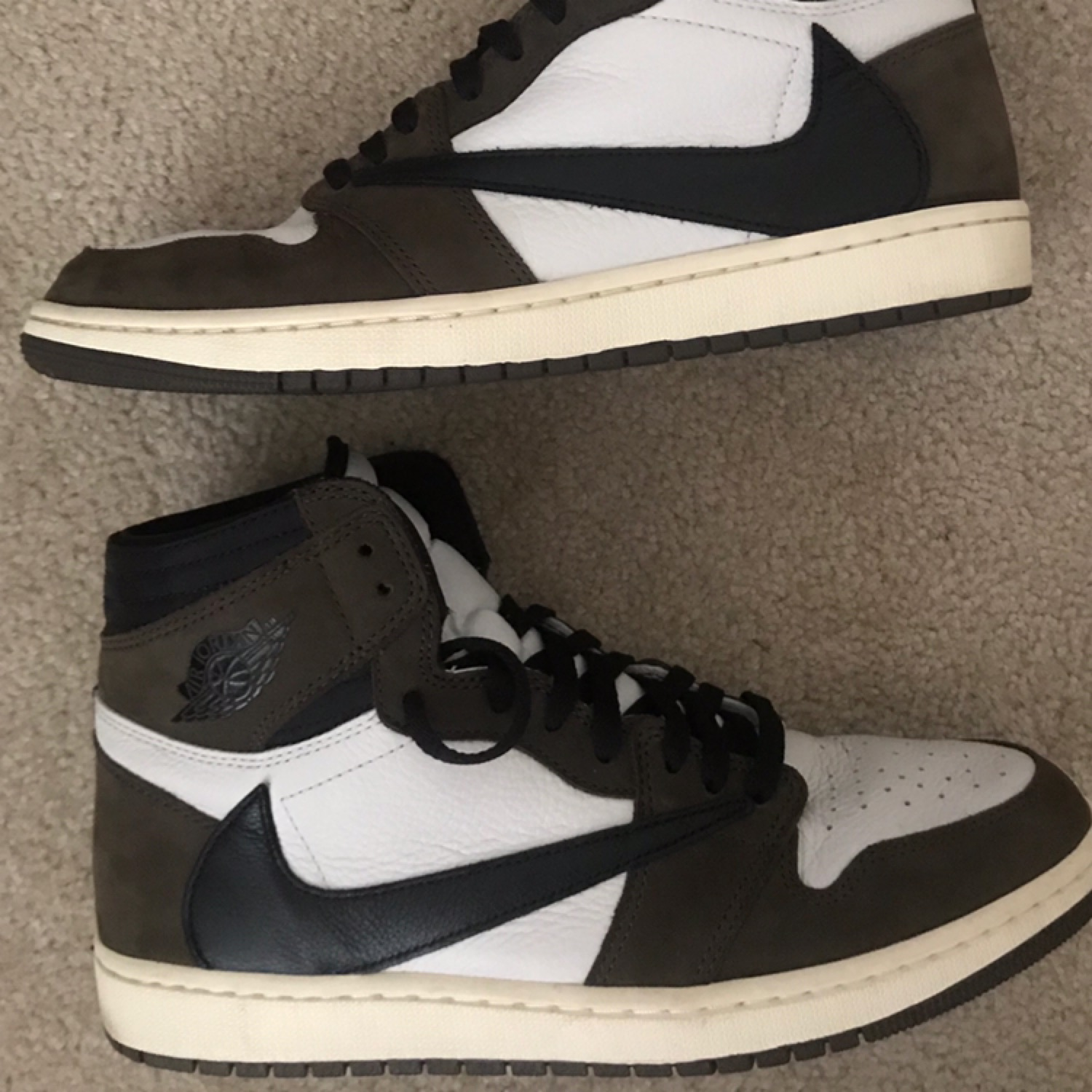 huge selection of 8536e ceb09 Travis Scott Jordan 1 Used