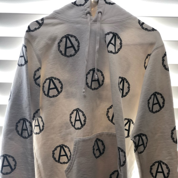 Supreme X Undercover Anarchy White Hoodie