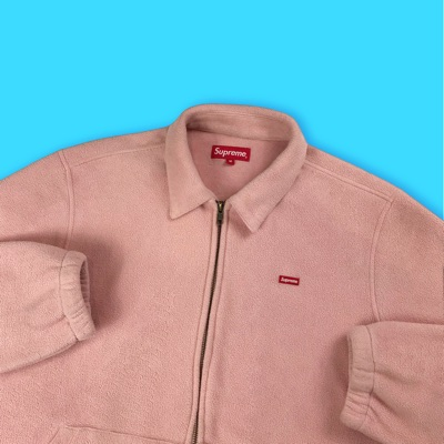 Supreme Polartec Harrington Jacket Pink