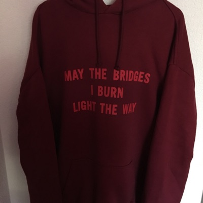 Vetements May The Bridges A/W 17 Hoodie Pour Homme