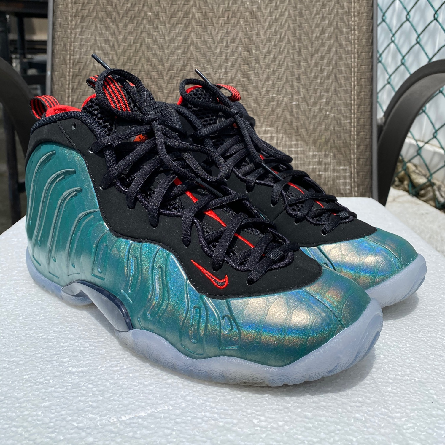 NBA 2K20 Shoe CreatorNike Foamposite One Metallic Red ...
