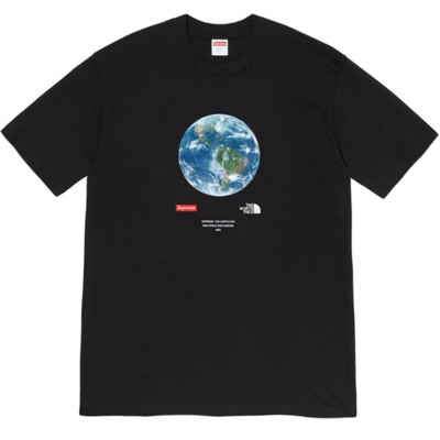 Supreme X The North Face One World Tee Black Large
