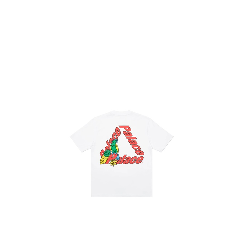 Palace-3 Parrot T-Shirt White