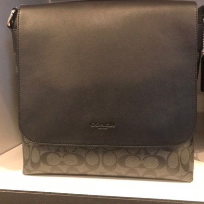 Coach Hide Leather Large Messenger Bag