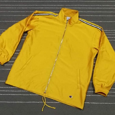 Champion track top yellow saiz XL
