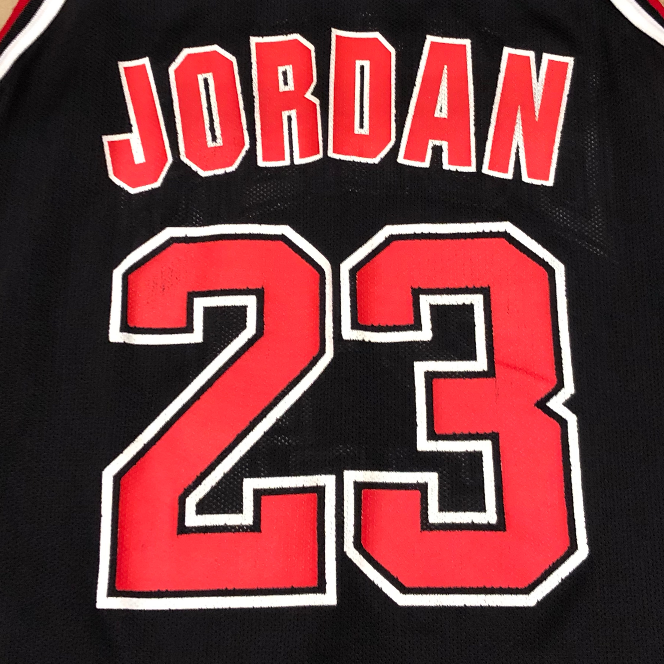 new style 776d6 57962 90'S Chicago Bulls Michael Jordan Jersey Black Red