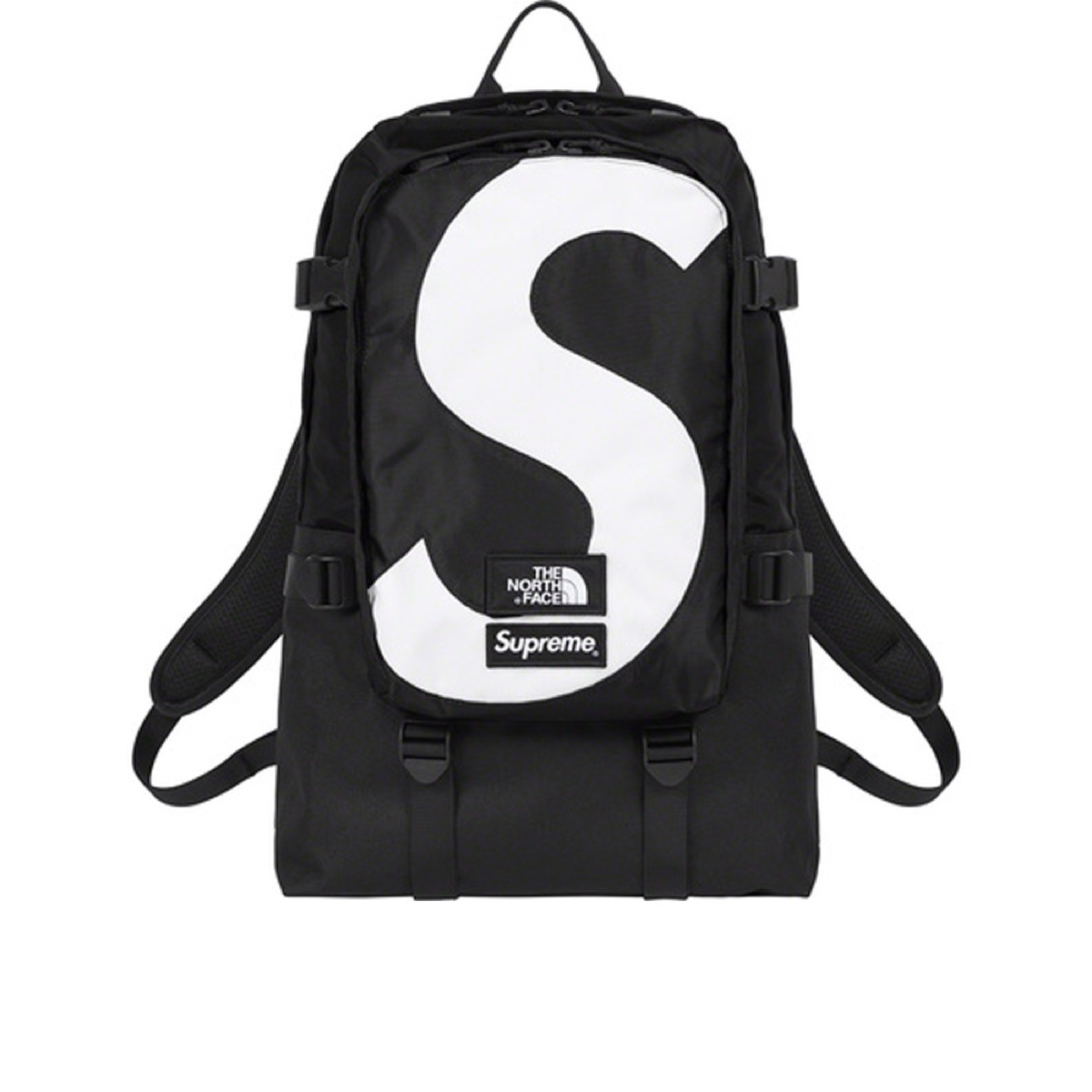 Supreme The North Face S Logo Expedition Backpack Black