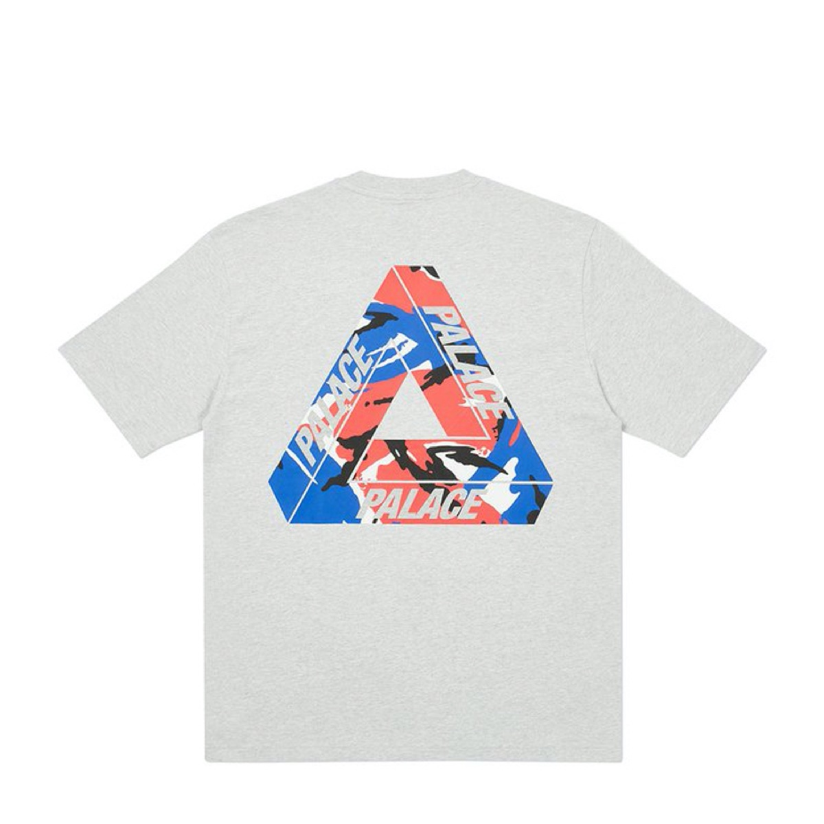 Palace Tri Camo T Shirt Grey Marl