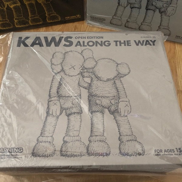 Kaws Along The Way (Brown) Vinyl Figure