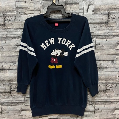 Vintage Mickey Mouse Sweatshirt Big Design