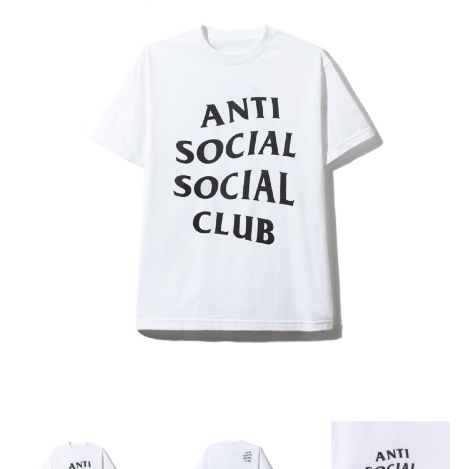 1fdff228836f Anti Social Social Club Shatto White Tee