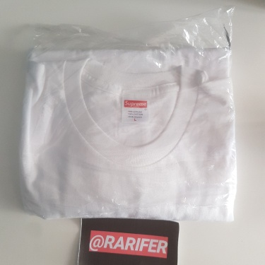 Supreme F/W19 Save The Planet Tee White L