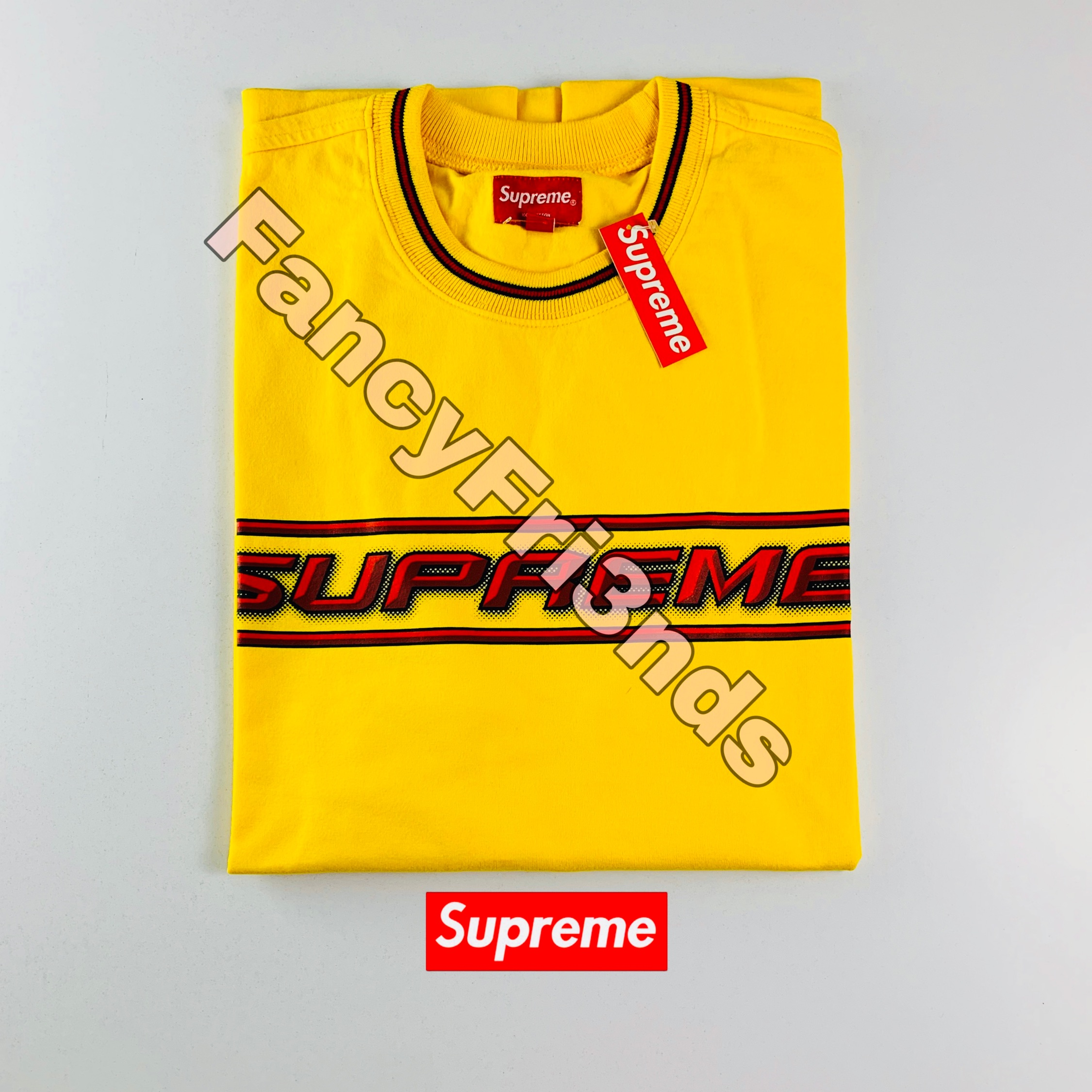 Supreme Bevel L/S Top Yellow