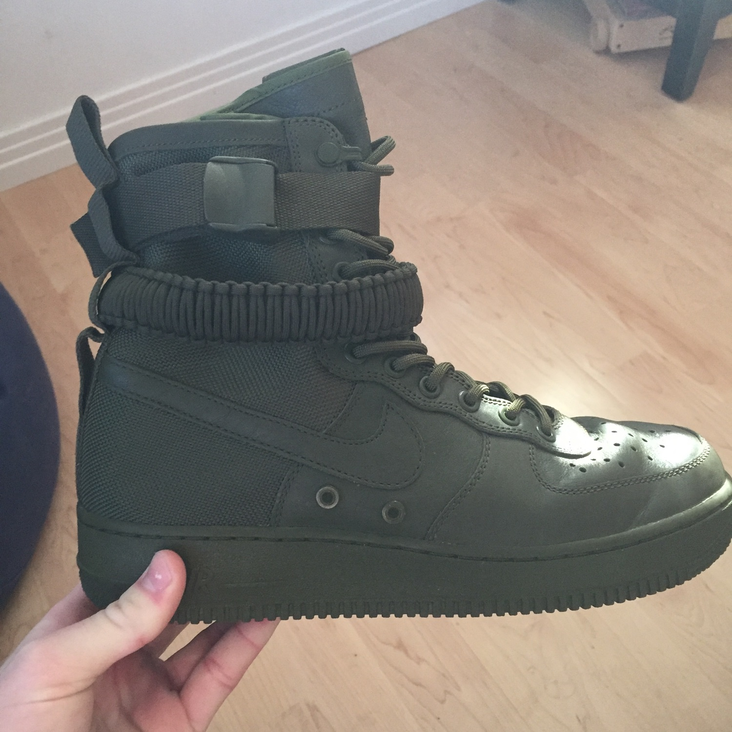 e3e0eed9ebbd5 Unreleased Nike Af1 Sf High Olive Green Ultra Rare