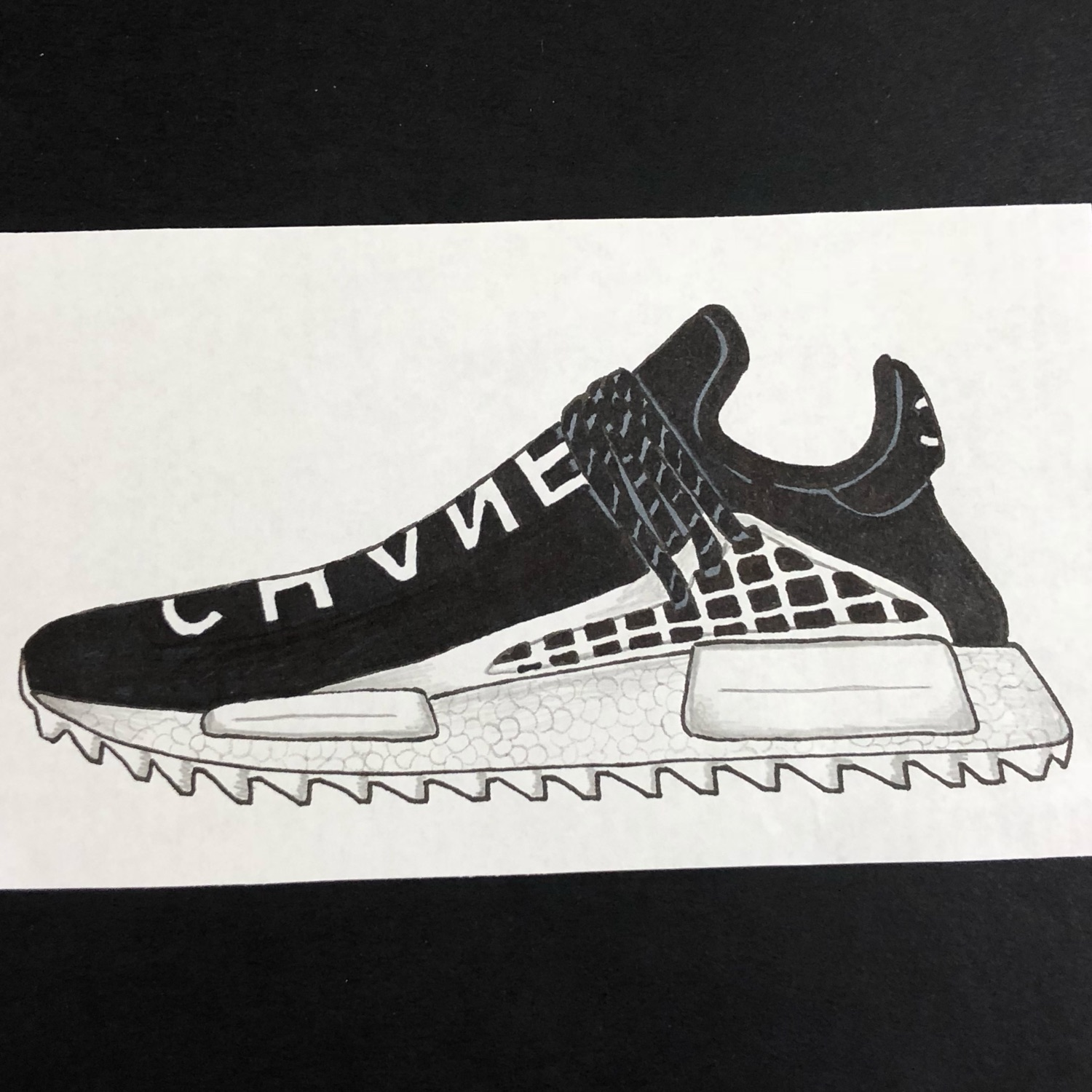 best sneakers 9bc14 cf42c Adidas Pharrell Williams X Chanel Human Race Nmd