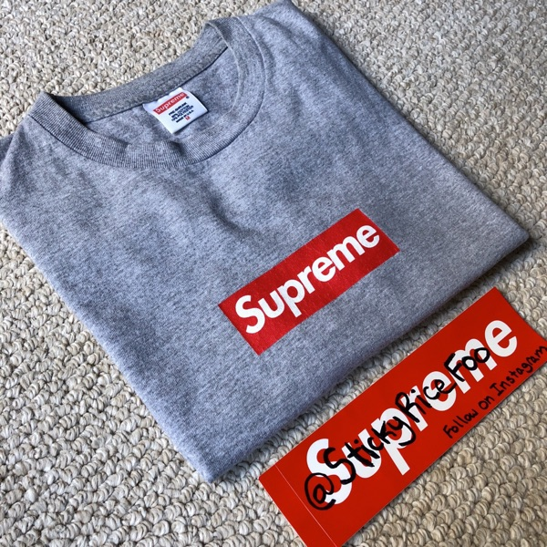 Brand New Supreme Independent Box Logo L//S Tee Top Black Size M